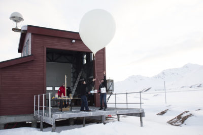 Climate Change Baloon